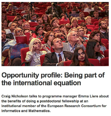 Opportunity profile: Being part of the international equation
