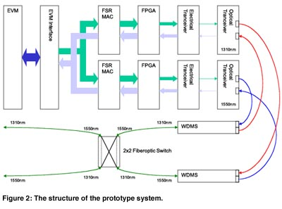 doFSR - Optical High-speed Packet Switched Networking